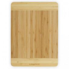Доска кухонная прямоугольная бамбуковая Lessner 30х20х1.8см 10300-30