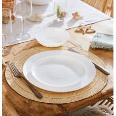 Тарелка десертная Luminarc AMMONITE WHITE 19см P8825