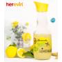 Бутылка для воды HEREVIN Lemonade 1л 111652-002