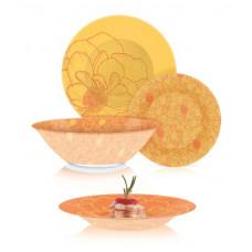 Сервиз столовый Luminarc Big Flower Orange 19 пр Q4858