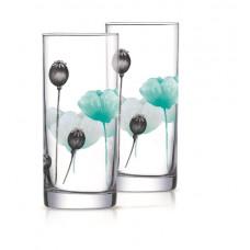 Набор стаканов высоких Luminarc Angelique Turquoise 270мл-6шт Q6106