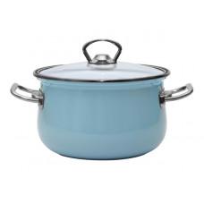 Кастрюля Infinity Turquoisw Blue 22см (5,0л) 6667312