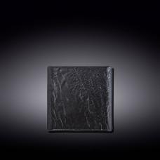Тарелка квадратная WILMAX SLATESTONE BLACK 13х13 см WL-661104 / A