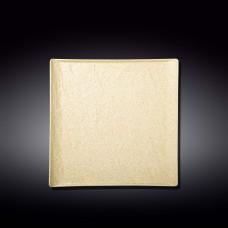 Тарелка десертная WILMAX Sandstone 21,5х21,5см WL-661306 / A