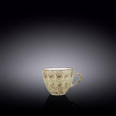 Чашка кофейная Wilmax Splash Pistachio 110 мл WL-667134 / A