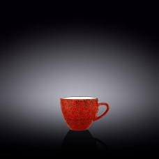 Чашка кофейная Wilmax Splash Red 75 мл WL-667233 / A