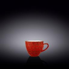 Чашка кофейная Wilmax Splash Red 110 мл WL-667234 / A