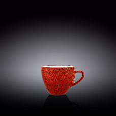 Чашка для капучино Wilmax Splash Red 190 мл WL-667235 / A