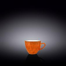 Чашка кофейная Wilmax Splash Orange 75 мл WL-667333 / A
