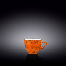 Чашка кофейная Wilmax Splash Orange 110 мл WL-667334 / A