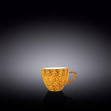 Чашка кофейная Wilmax Splash Yellow 75 мл WL-667433 / A