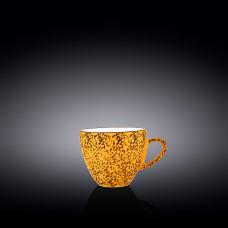Чашка для капучино Wilmax Splash Yellow 190 мл WL-667435 / A