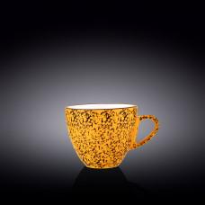 Чашка чайная Wilmax Splash Yellow 300 мл WL-667436 / A
