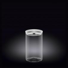 Емкость для хранения с металлической крышкой Wilmax 1100мл WL-888515 / A