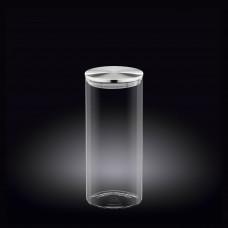 Емкость для хранения с металлической крышкой Wilmax 1500мл WL-888517 / A