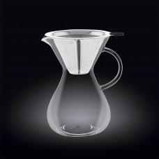 Декантер для кофе с фильтром Wilmax 700 мл WL-888853 / A