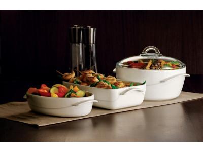 Керамическая посуда на современной кухне