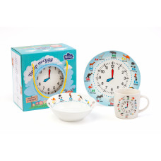 Детский набор Milika Amusing Clock 3пр. M0690-KS-2006