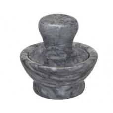 Ступка мраморная с пестиком Granchio  10x5 см