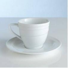 Чашка с блюдцем (0,265 л) фарфор Hotel