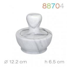 Ступка мраморная с пестиком  Granchio  12,2x6,5 см