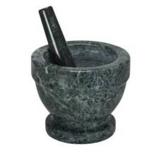 Ступка мраморная с пестиком  Granchio  13x11,5 см