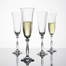 Набор бокалов для шампанского Bohemia Angela 190мл-2шт