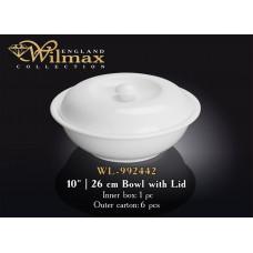 Миска с крышкой Wilmax  26 см WL-992442