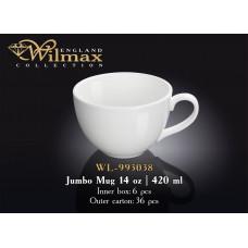 Кружка джамбо Wilmax  420 мл WL-993038