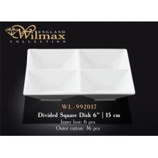 Менажница квадратная Wilmax 15 см WL-992017