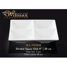 Менажница квадратная Wilmax 20 см WL-992018