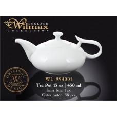 Чайник заварочный Wilmax 450 мл WL-994001/1C