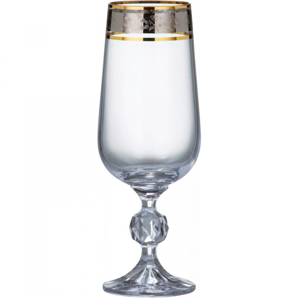 Набор бокалов Bohemia Claudia (43249) 24 пр. b40149-43249