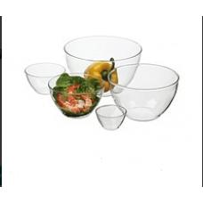Simax Набор блюд выдувных (220мм,185мм,180мм,150мм,115мм)-5пр Color