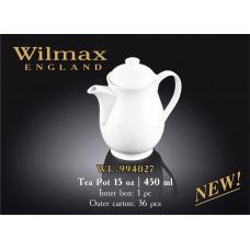 Чайник заварочный Wilmax Color 450 мл WL-994027