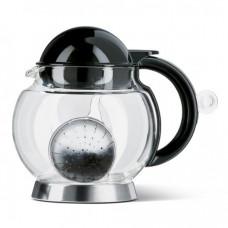 Прозрачный заварочный чайник Emsa HOT 1,4 л (Антрацит)