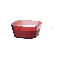 Высокая квадратная миска Emsa VENICE 10 х 10 см (Красная)