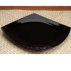 Тарелка обеденная квадратная Luminarc Quadrato Black 26см