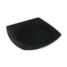 Тарелка десертная квадратная Luminarc Quadrato Black d19см