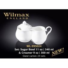 Набор сахарница+молочник Wilmax Color 2 пр. WL-995024/2C