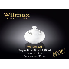Сахарница Wilmax Color 250 мл WL-995021/1C