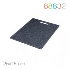 Доска разделочная  25х15х0,8 мрамор Granchio