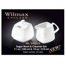 Набор сахарница и молочник Wilmax Color 2 пр. WL-995028/2C