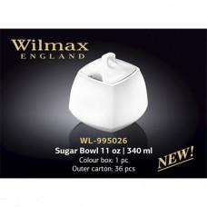 Сахарница Wilmax Color 340 мл WL-995026/1C