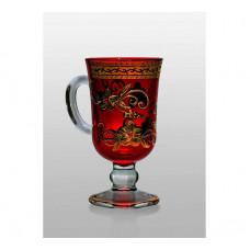 Набор бокалов для глинтвейна Bohemia Venezia (assorti Swarovski) 250 мл- 4 шт