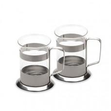 Набор из 2-х стеклянных чашек 0,2 л BergHoff 1106807