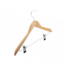 Вешалка для костюмов с прищепками на металлической перекладине Granchio 44см