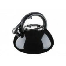 Чайник эмалированный Granchio Colorito Nero 2,6 л 88625