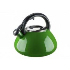 Чайник эмалированный Granchio Colorito Verde 2,6 л 88626