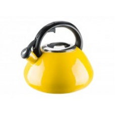 Чайник эмалированный Granchio Colorito Limone 2,6 л 88628